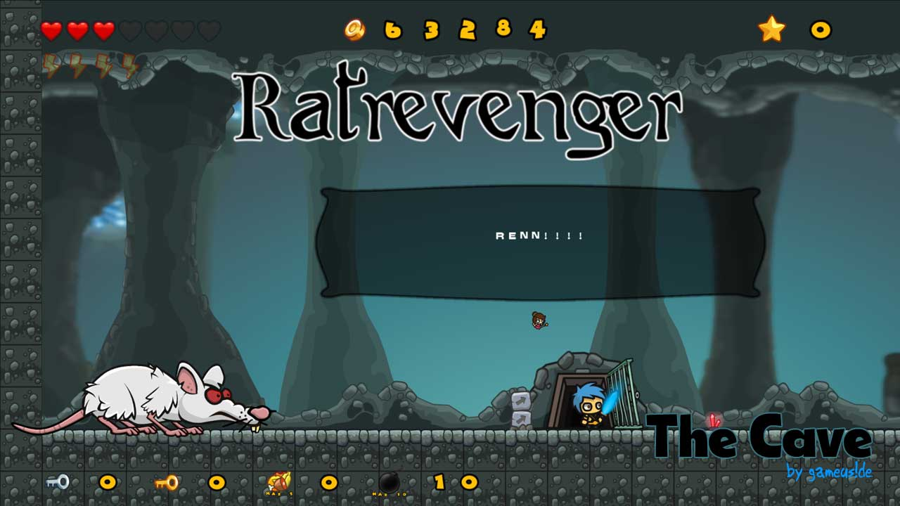 Ratrevenger - Boss2 . TheCave